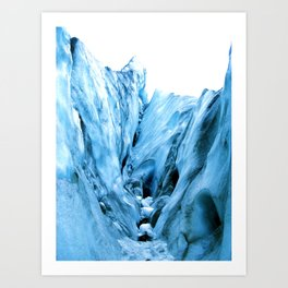 The  Ice Art Print