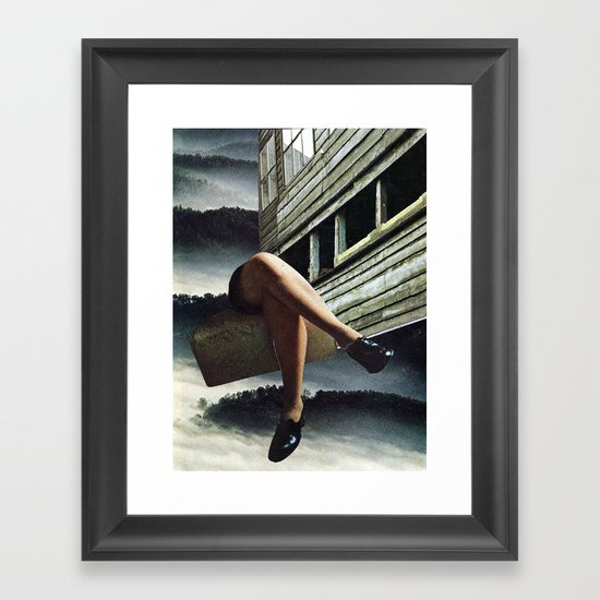 Decision... Framed Art Print