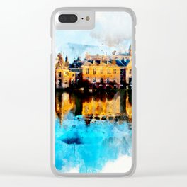 sketch the Hague Clear iPhone Case