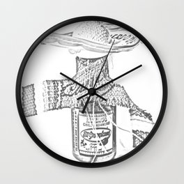 Hot Sauce - Chile Habanero Wall Clock