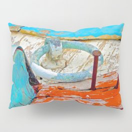 A boat that was washed ashore on Ageon Sea, decaying in the sun. Pillow Sham