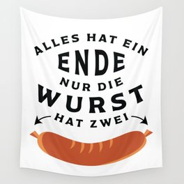 German Sausage Oktoberfest Wall Tapestry