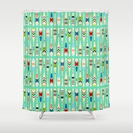 Meet Me at the Lake Shower Curtain