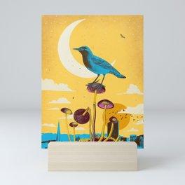 CITY BIRD Mini Art Print