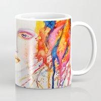 splatter Mugs featuring Splatter by Funkygirl4ever95