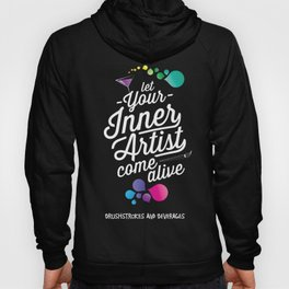 Let your inner artist come alive! Hoody