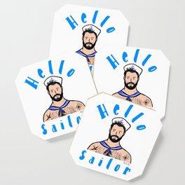 Beard Boy: Hello Sailor Coaster