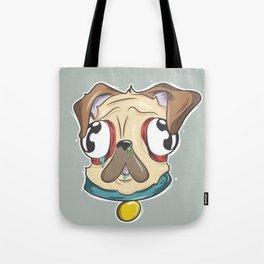 Gross Pug Tote Bag