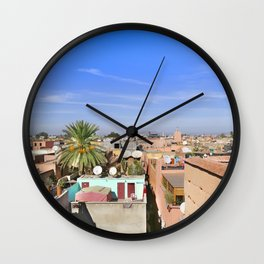 Marrakech Beauty Wall Clock