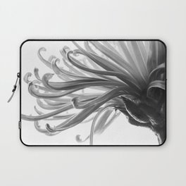 Spider Mum Black and White 2 Laptop Sleeve