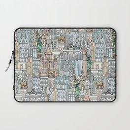 New York watercolor Laptop Sleeve