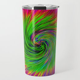 Psychedelic Swirl Travel Mug