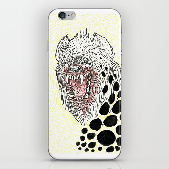 Monstrous and Free iPhone Skin