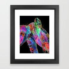 No Separation Framed Art Print