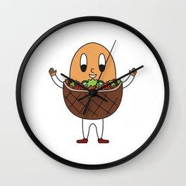 Doner-Kebab Egg Wall Clock