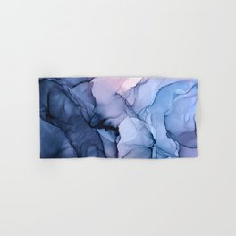 Captivating 1 - Alcohol Ink Painting Hand & Bath Towel