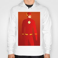 flash Hoodies featuring Flash by pablosiano