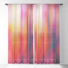 Elevation Sheer Curtain