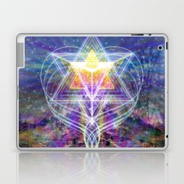Merkabah Rainbow Laptop & iPad Skin