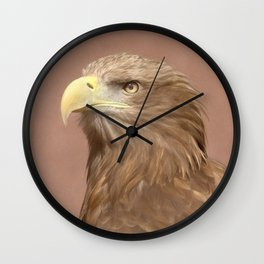 Sea Eagle Wall Clock