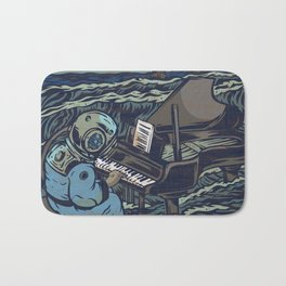 Symphony Of The Rising Tide Bath Mat