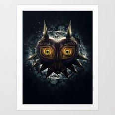 Epic Pure Evil of Majora's Mask Art Print