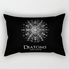 Diatoms are back Rectangular Pillow