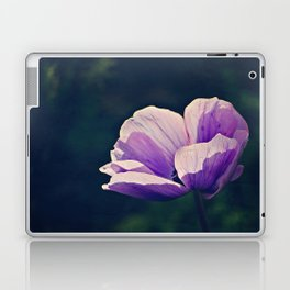 Purple Anemone Laptop & iPad Skin