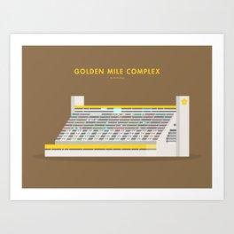 Golden Mile Complex, Singapore [Building Singapore] Art Print