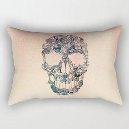 Skull Vintage Rectangular Pillow