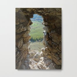 Abandoned Castle Metal Print
