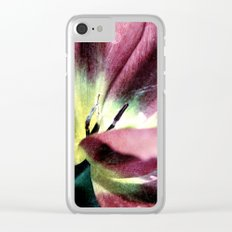 Tulip sensation Clear iPhone Case