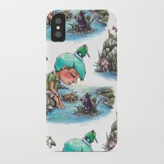 By the River's Edge iPhone X Slim Case