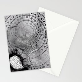 Fragmented Fractal Memories and Shattered Glass Stationery Cards