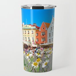 Old Town, Tallinn, Estonia Travel Mug