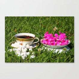 Country Coffee Canvas Print