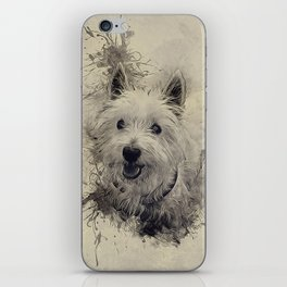 West Highland White Terrier iPhone Skin