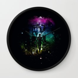 time traveller v2 Wall Clock