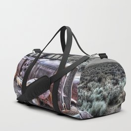 Rusting in the desert Duffle Bag