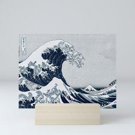 The Great Wave - By Hokusai Mini Art Print