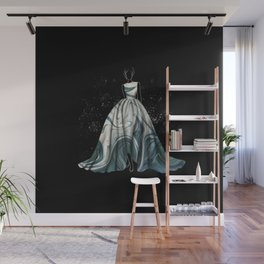 Evening Gown Fashion Illustration #1 Wall Mural
