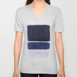 Rothko Inspired #26 Unisex V-Neck