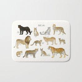 Wild Cats Bath Mat