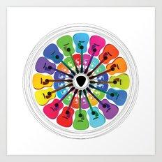 Pick A Color Art Print