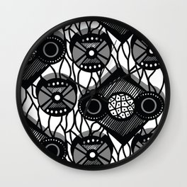 Far East Wall Clock