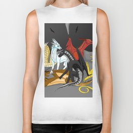 Dragon Wings Of Fire Biker Tank