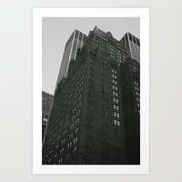 buildings Art Prints featuring Buildings by Laura Gomez