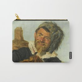 "Frans Hals ""Fisherman playing the violin"" Carry-All Pouch"