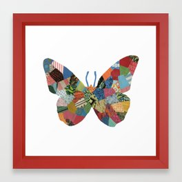The Butterfly. Framed Art Print