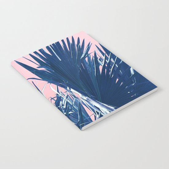 Pink Palm Twist Notebook